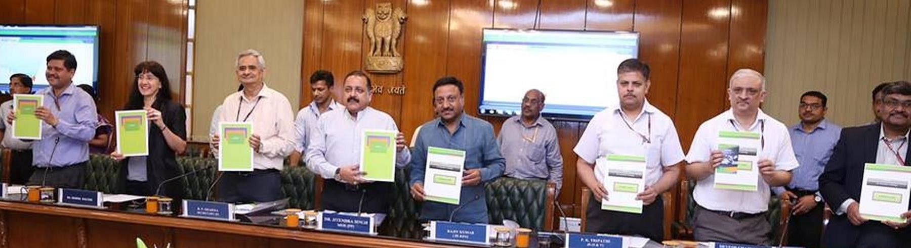 Digital Launch of Comprehensive Online Modified Modules for Induction Training (COMMIT) by Hon'ble MoS(PP) on 29/06/2017